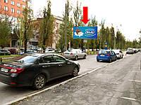 """Щит г. Киев, Лепсе И. бул., 4, разделитель, бизнес центр """"Сильвер центр"""", в сторону ул. Гарматная"""