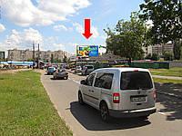 Щит г. Киев, Симиренко ул., 8 / ул. Желудева, возле рынка, Универсама, в сторону пр-т  Королева Ак.