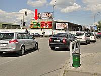 Рекламный щит г. Киев, Новоконстантиновская ул., 2-А, напротив АЗС, фасад, левый, в сторону ул. Эллектриков