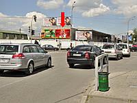 Рекламный щит г. Киев, Новоконстантиновская ул., 2-А, напротив АЗС, фасад, правый, в сторону ул. Эллектриков