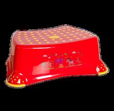 Табурет step irak plastik красный
