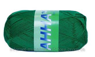Пряжа Сеам Ганна 16 Зелений