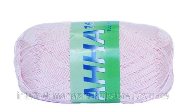 Пряжа Сеам Анна 16 Розовый