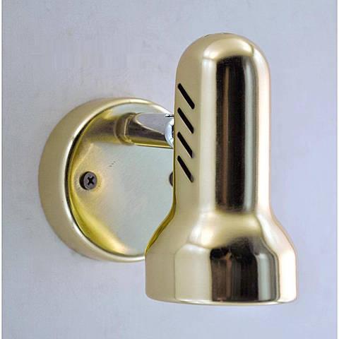 Светильник золотой (подсветка для картин и зеркал) BK-902 40W Е14 золото