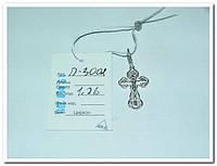 Крестик детский православный серебряный.