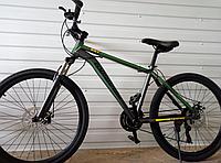 Велосипед спортивний TopRider 887 26 дюймів. Зелений, фото 1