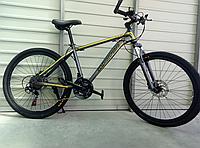 Велосипед спортивный TopRider 887 26 дюймов. Желтый, фото 1