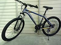 Велосипед спортивний TopRider 887 26 дюймів. Синій, фото 1