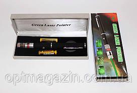 Лазерная указка 8410 зеленый цвет 5 в 1