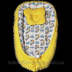 Кокон гнездышко для новорожденных krotik
