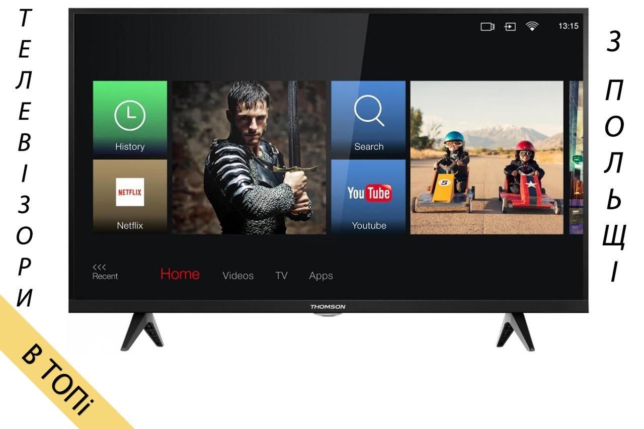 Телевизор THOMSON 32HD5506 Smart TV 300Hz T2 S2 2018 год из Польши ОРИГИНАЛ