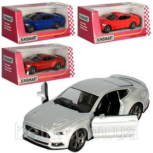 Машинка КТ5386W інерц, мет.1:38, гумові колеса,відчин.двері,4 кольори,кор,16-7-8см