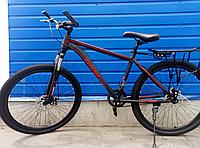 Велосипед спортивный TopRider 700 26 дюймов. Красный