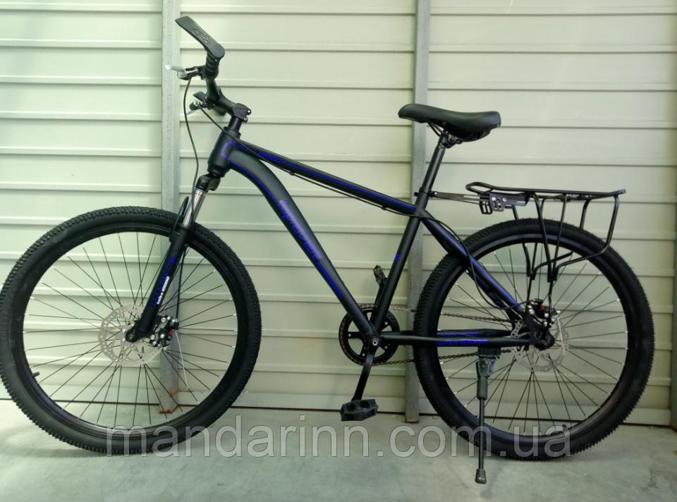 Велосипед спортивный TopRider 700 26 дюймов. Синий