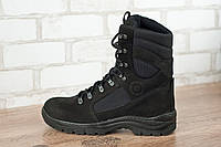 Ботинки высокие тактические STIMUL Козак деми нубук черный