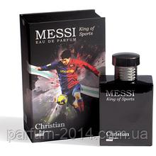 Чоловіча парфумована вода Christian KING OF SPORTS Messi men 100 ml