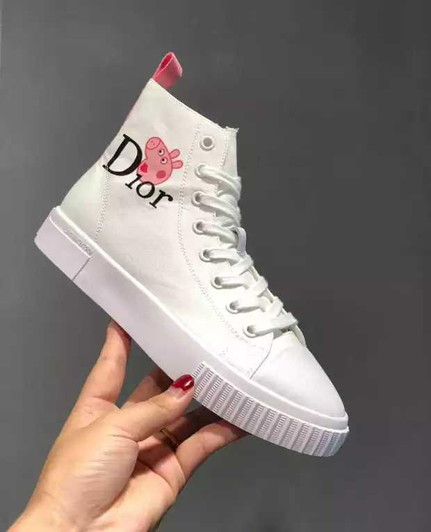 кроссовки Dior X Peppa Pig реплика продажа цена в киеве кроссовки кеды повседневные от