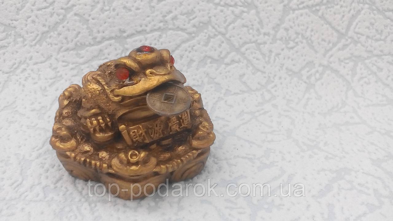 Статуэтка Денежная лягушка размер 5*5*4 см