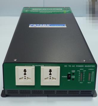 Инвертор напряжения  с модифицированной синусоидой Ataba AT-12250 ( 12v в 220v 2500W )