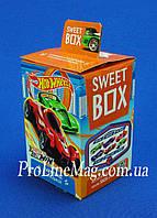 """Свит Бокс Sweet Box """"Hot wheels"""" Мармелад с игрушкой в коробочке"""