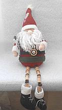 Мягкая игрушка ручной работы Дед Мороз