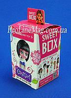 "Свит бокс Sweet Box ""Подружки"" Мармелад с игрушкой в коробочке"