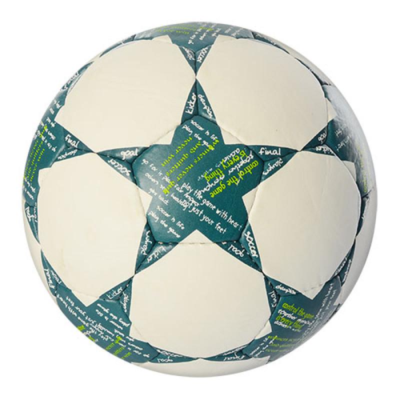М'яч футбольний 2500-34A розмір 5, 400-420 гр