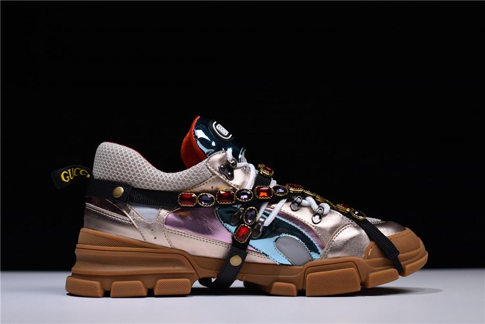 Кроссовки Gucci SEGA Crystal Sneaker мужские женские реплика ... f0ef3ac0396