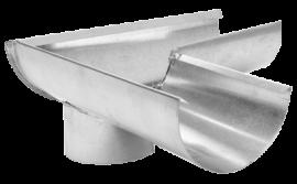 Поворот жолоби 110 мм (45°,90°)