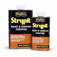 Средство для снятия верхнего слоя краски и лака (Strypit) от 250 мл.