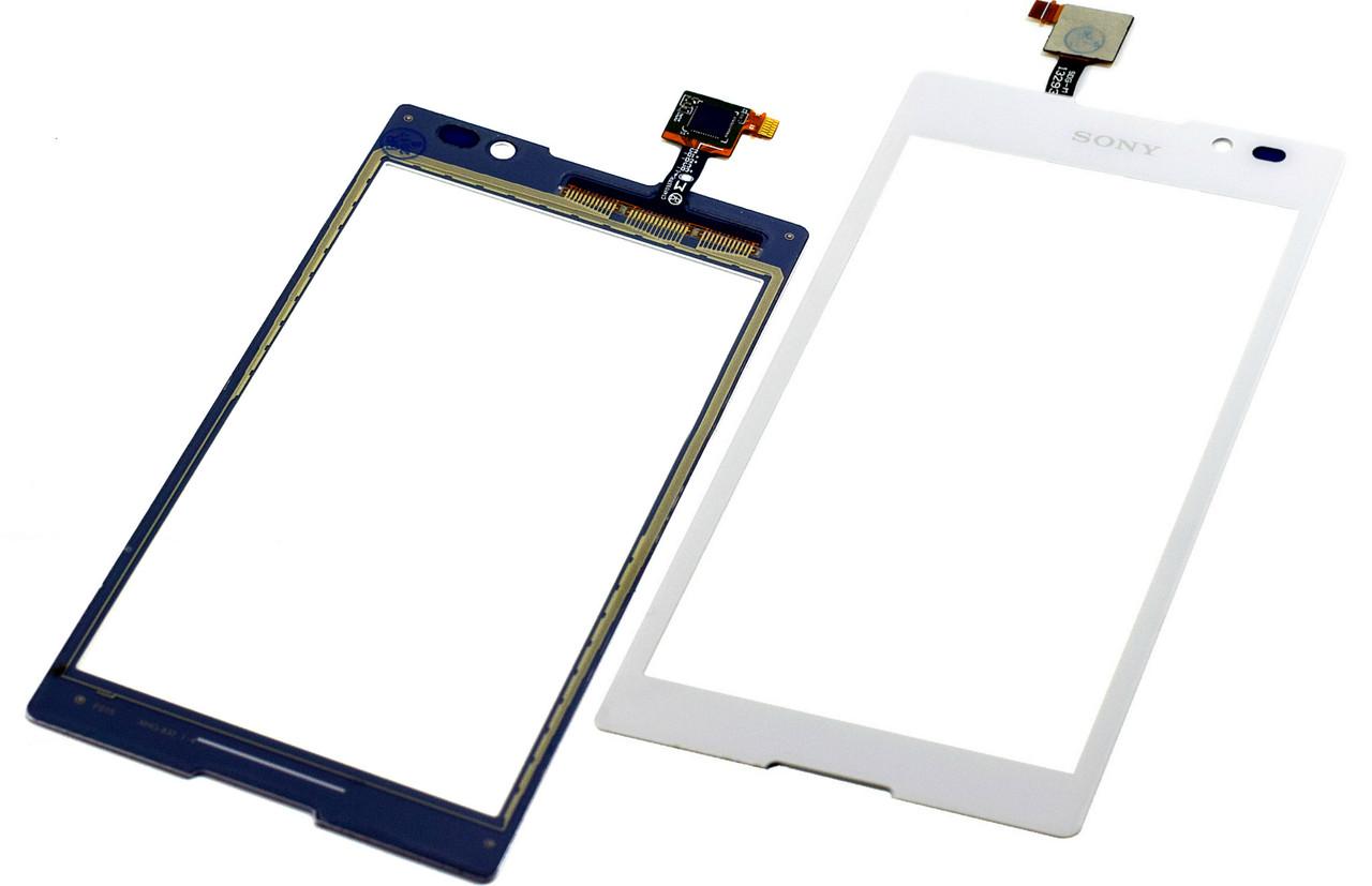 Сенсор Sony C2305 S39h Xperia C white h.c.