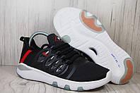 Fila(фила) мужские лёгкие кроссовки черные на белой подошве, фото 1