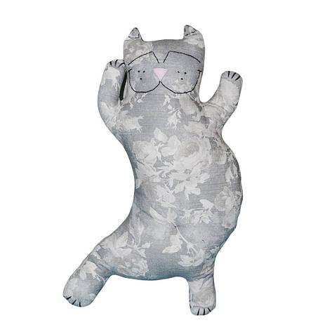 Подушка серый кот, фото 2