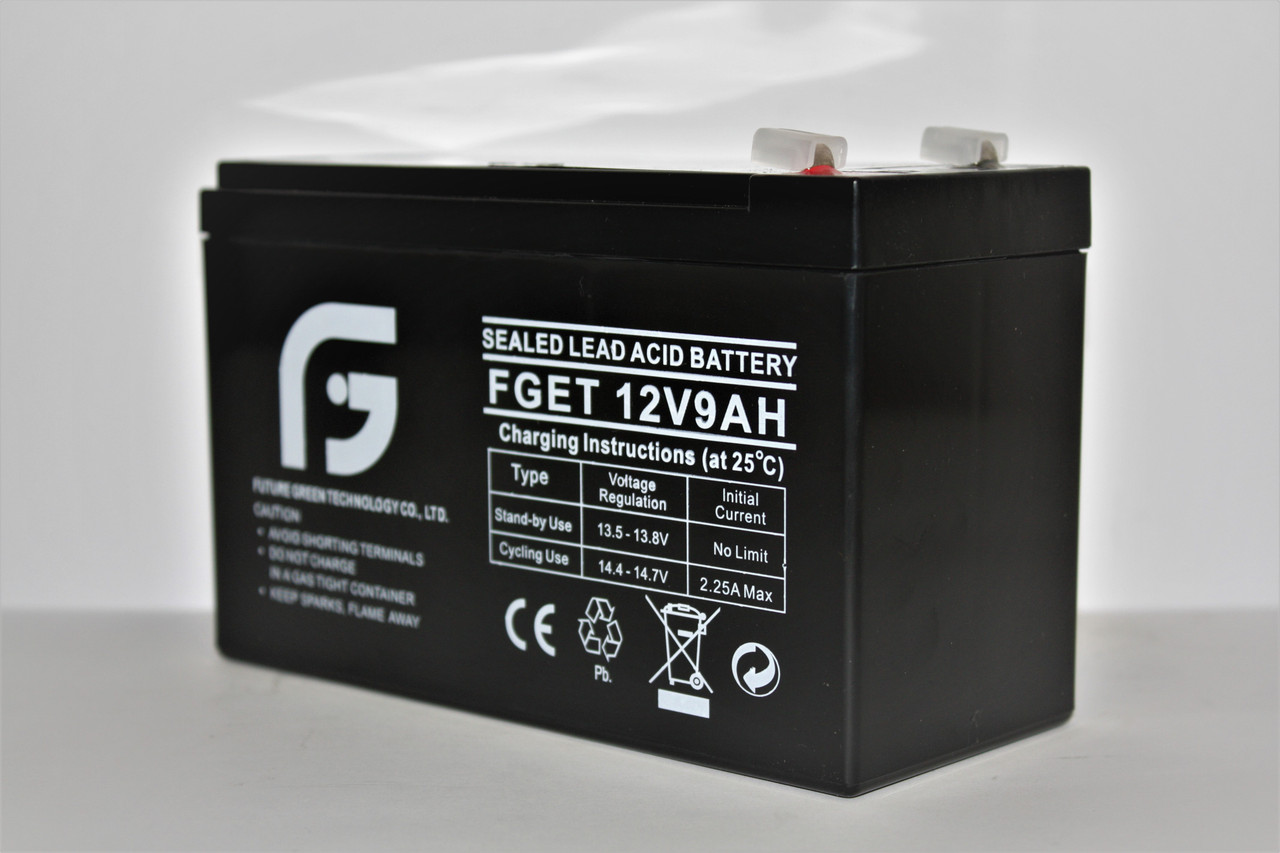 Акумулятор 12V 9Ah FGET, 151х65х93