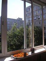 Лоджии, балконы раздвижные алюминиевые  системы