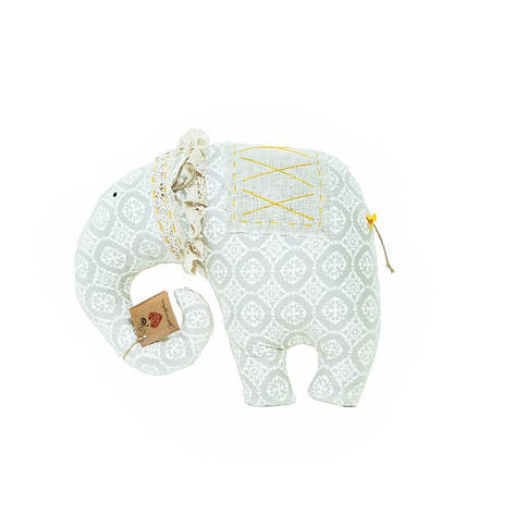 Подушка слон Ажур (ручная работа), фото 2