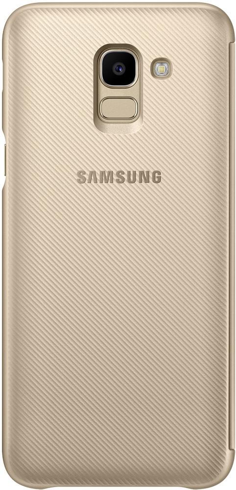 Чехол Samsung Wallet Cover Galaxy J6 J600 gold (EF-WJ600CFEGRU) EAN/UPC: 8801643311612