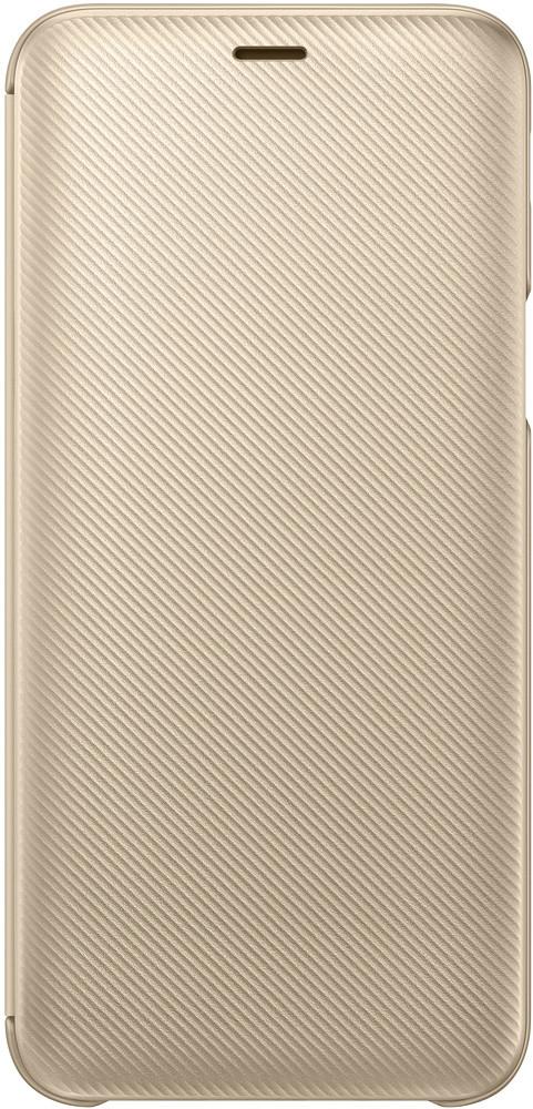 Samsung Wallet Cover Galaxy J6 J600 gold (J600) 2018 Для телефона Чехол-книжка от царапин