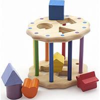 Развивающая и обучающая игрушка - Сортер - Интересный цилиндр
