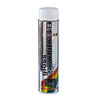 Краска универсальная белая глянцевая Motip 600мл 604004