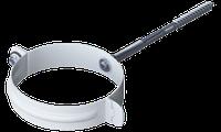 Хомут трубы, держатель трубы, муфта  Ø 160 мм (длина стержня 160 мм)