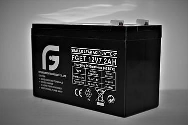 Аккумулятор 12V 7.2Ah FGET
