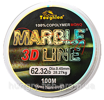 Леска TOUGHLON Marble 3D Line Green 100м