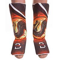 Защита ноги BWS, D Sublimation, дракон, р-р L