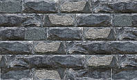 "Плитка Сланец со сколом ""Черное море"" KLVIV / шир. 7.5 см x L, фото 1"