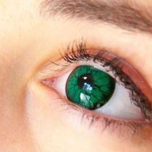 Линзы Темные Зеленые