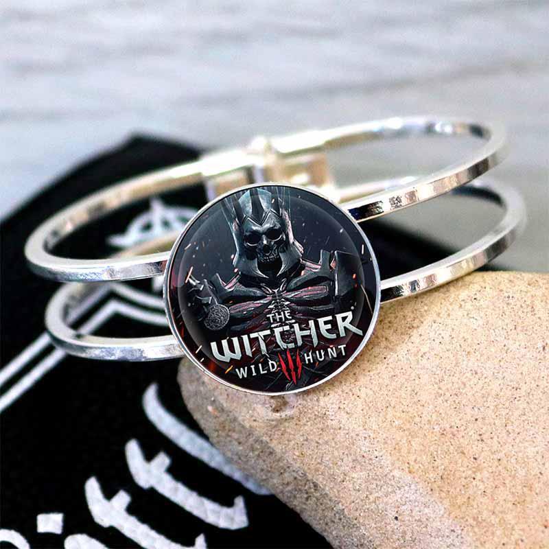 Браслет The Witcher Ведьмак с логотипом