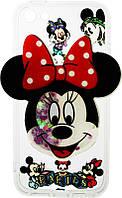 Чехол-накладка TOTO TPU Сartoon Network Case IPhone 5/5S/SE Mini Mouse Red, фото 1
