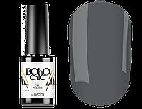 Гель-лак Naomi Boho Chic BC001 (теплый темно-серый, эмаль), 6 мл