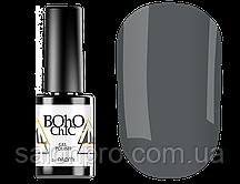 Гель-лак Naomi Boho Chic BC01 (теплый темно-серый, эмаль), 6 мл